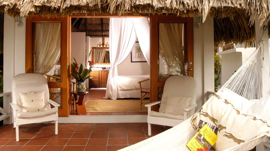 Looking inside a Casita at Victoria House Resort and Spa