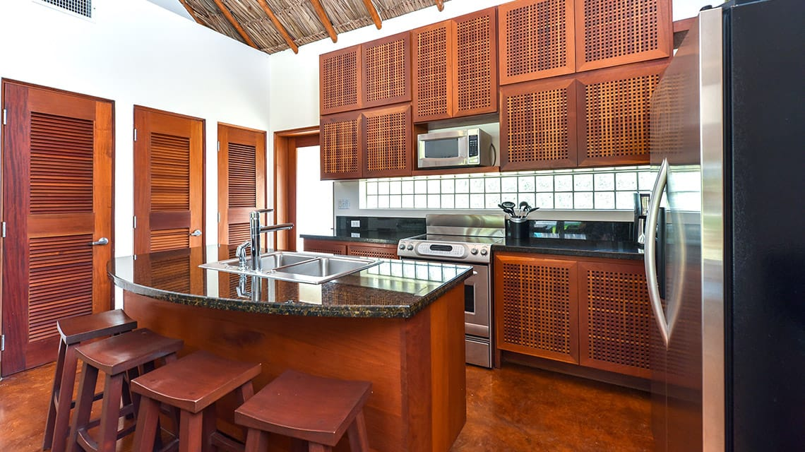 Kitchen in Luxury Villa at Victoria House Resort and Spa